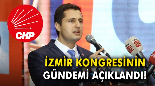 İzmir kongresinin gündemi açıklandı