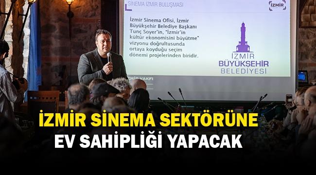 İzmir sinema sektörüne ev sahipliği yapacak