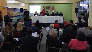 Karşıyaka Belediyesi Meclis toplantısı şantiyede gerçekleşti