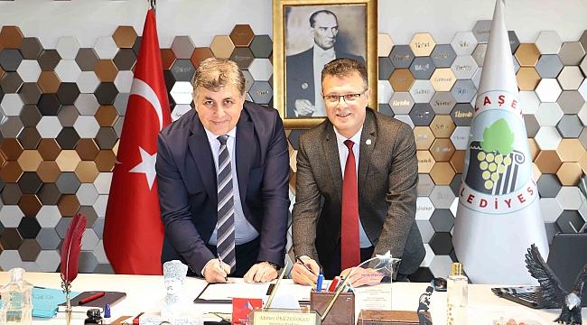 Karşıyaka ve Alaşehir'den 'şehir protokolü
