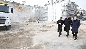 Konak Belediye Başkanı Batur, Elazığ'da