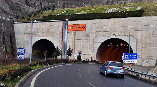 Konak Tüneli'nin sorumluluğu Büyükşehir'de devredildi