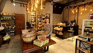 Ödüllü kadın girişimciden şarküteri cafe
