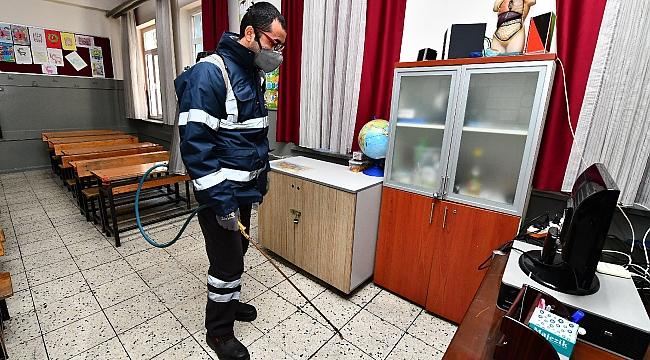 Okullardaki gribe Büyükşehir önlemi