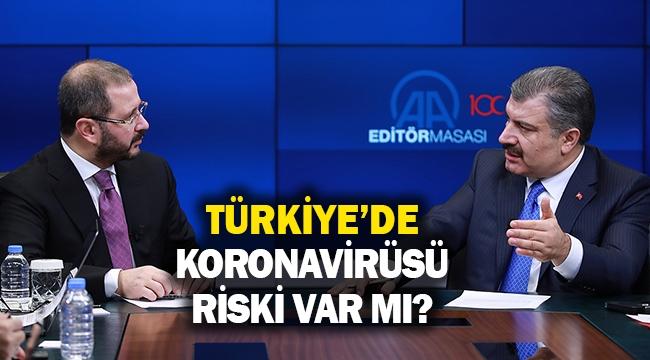 Türkiye'de Koronavirüsü riski var mı?