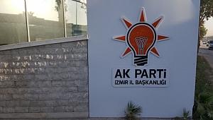 AK Parti Güzelbahçe'de istifa
