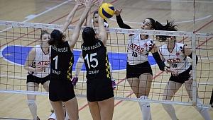 Ateşçelik Bergama Belediyespor Kadın Voleybol Takımı'nı şanssızlık vurdu