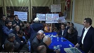 Başkan'a çok sert tepki: Köyümüze dokunma senden hiçbir şey istemiyoruz!