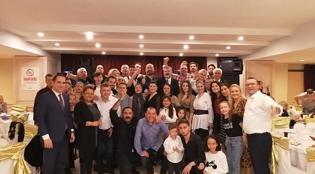 Gelecek Partisi İzmir İl Başkanı Kavur, göçmenlerle buluştu