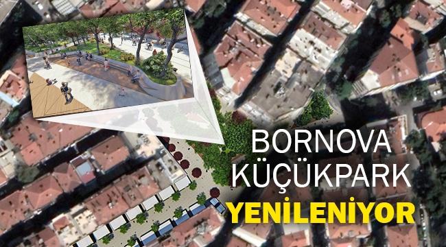 Bornova Küçükpark yenileniyor