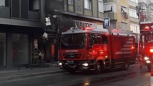 Buca Şirinyer'deki özel hastanede yangın paniği