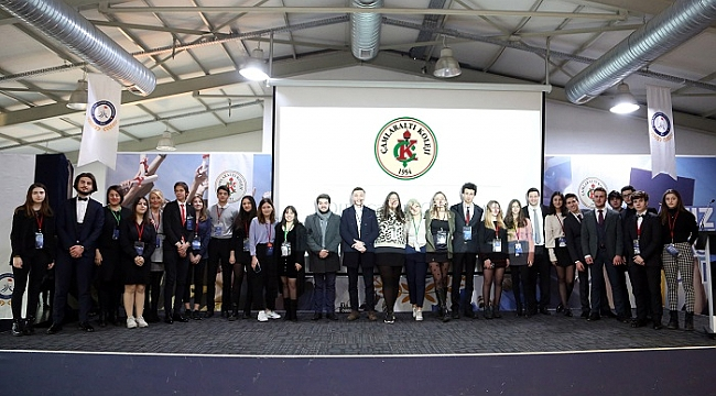 Çamlaraltı Koleji MUN Konferansı'na Ev Sahipliği Yaptı