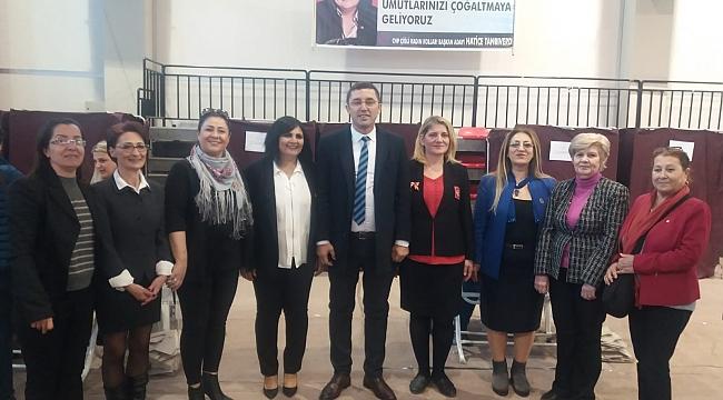 Çiğli'nin yeni kadın kolları başkanı belli oldu