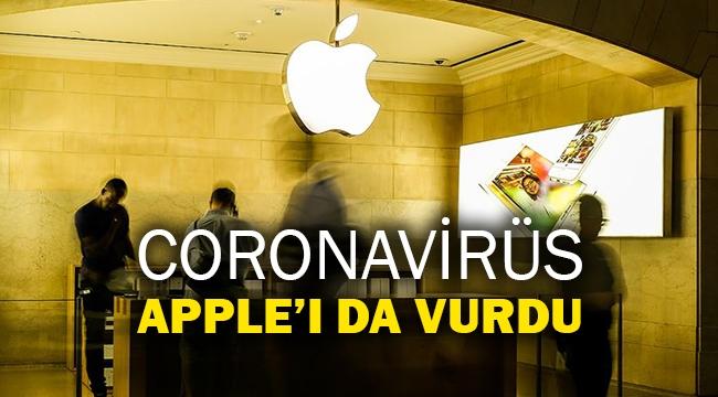 Coronavirüs Apple'ı da vurdu