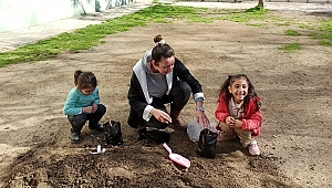 Efes Selçuk çocukları yerli tohumla tanışıyor