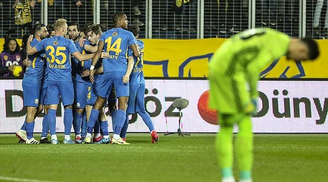 Fenerbahçe, Ankara'da 3 puan bıraktı