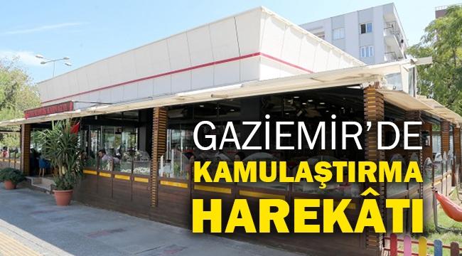 Gaziemir'de kamulaştırma harekâtı