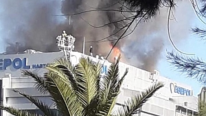 Hastalar tahliye edildi yangın söndürüldü!