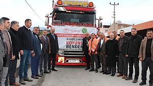 İzmirli üreticilerden depremzedelere koyun bağışı