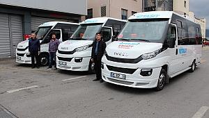 İZTAŞIT filosuna üç minibüs kattı