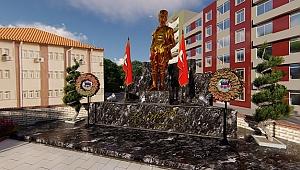 Kemalpaşa'daki Atatürk Meydanı yenileniyor!