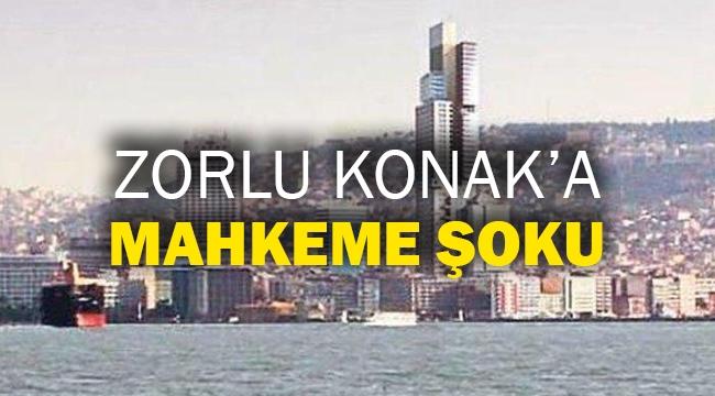 Zorlu Konak'a mahkeme şoku