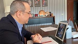 AK Parti, CHP, MHP ve İYİ Parti İl Başkanları 'Sağlık'ta buluştu