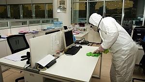 Aliağa Belediyesi'nden dezenfekte çalışması