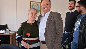 Başkan Aksoy'dan anlamlı kutlama