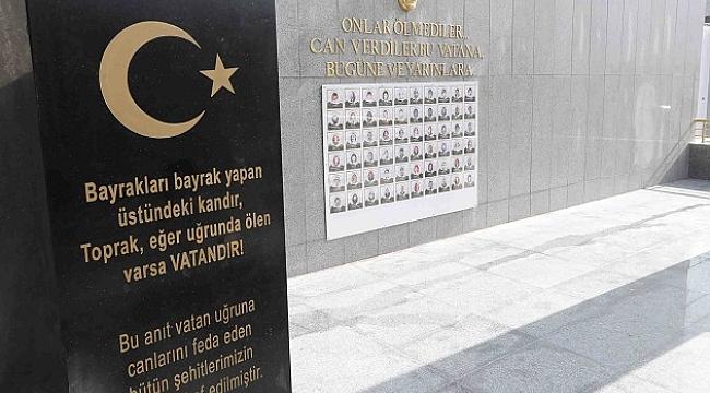 Bayraklı'da Şehitler Anıtı yenilendi