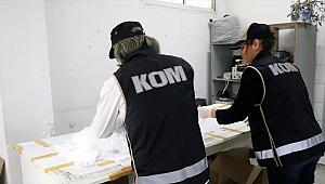 Bornova'da maske baskını 1500 maske ele geçirildi