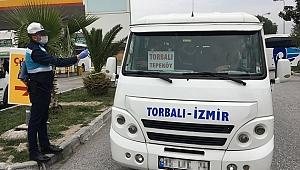 Büyükşehir'den minibüs esnafına destek