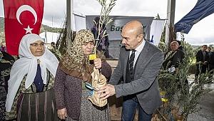 Büyükşehir'den üreticiye destek ürüne bereket