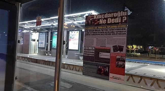 CHP'li Gençlerden mesaj: Medya sizinse, sokaklar bizimdir!