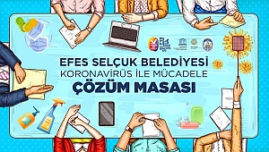 Efes Selçuk Belediyesi Çözüm Masası'ndan koronavirüse karşı önlemler