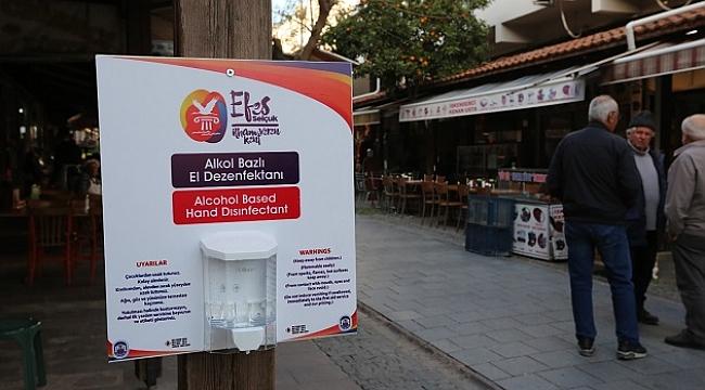 Efes Selçuk'ta koronavirüs'e karşı önlemler alınıyor