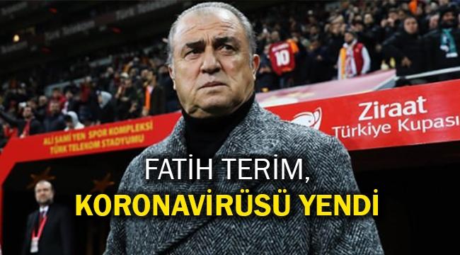 Fatih Terim, koronavirüsü yendi