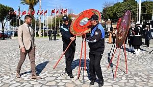 Foça'da Çanakkale Zaferi anma töreni