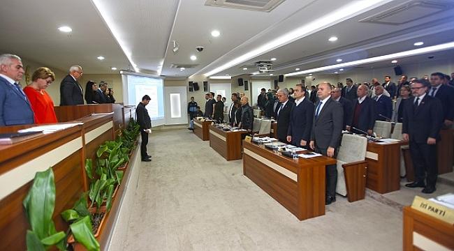 İdlib şehitleri Karabağlar Meclisi'nde de anıldı