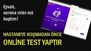 Internet üzerinden corona virüs testi mümkün!