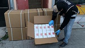 İzmir'de 20 bin 350 adet maske ele geçirildi