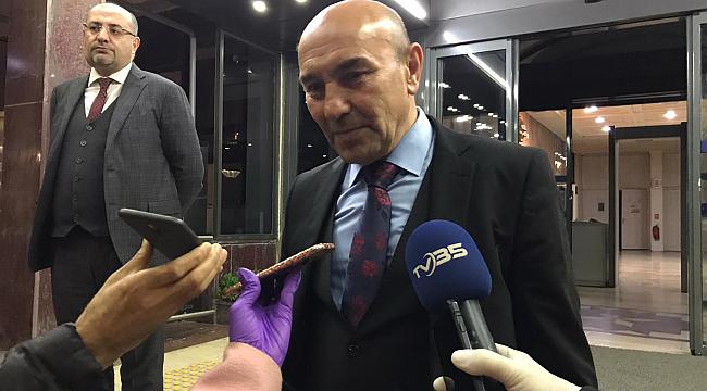 İzmir'de coronavirüs zirvesi! Tüm belediye başkanları bir araya geldi