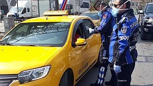 İzmir'de taksilere sıkı denetim