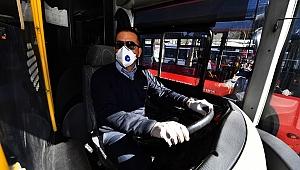 İzmir'de toplu ulaşım oranı yüzde 50 azaldı