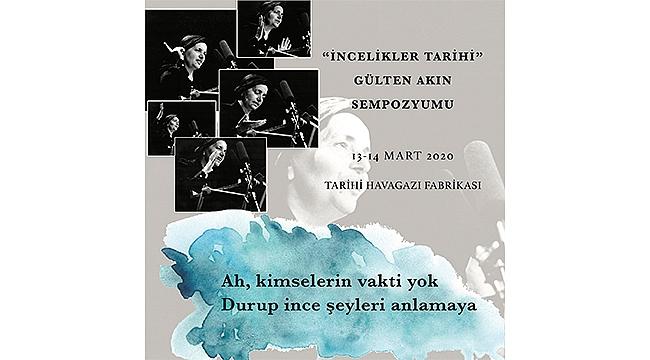 İzmir Gülten Akın'ı anıyor
