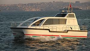İzmir'in tek deniz ambulansı Büyükşehir'e devredildi