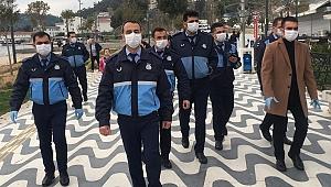 İzmir zabıtası mangalcılara göz açtırmadı!