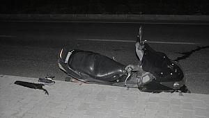 Kuşadası'nda kaldırıma çarpan motorlu hayatını kaybetti