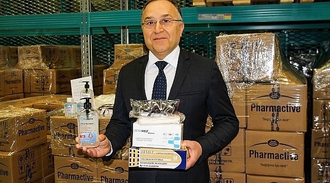 Pharmactive'den sağlık çalışanlarına acil ihtiyaç paketi