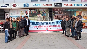 Tolunay'a bir umut da Çiğli CHP'den